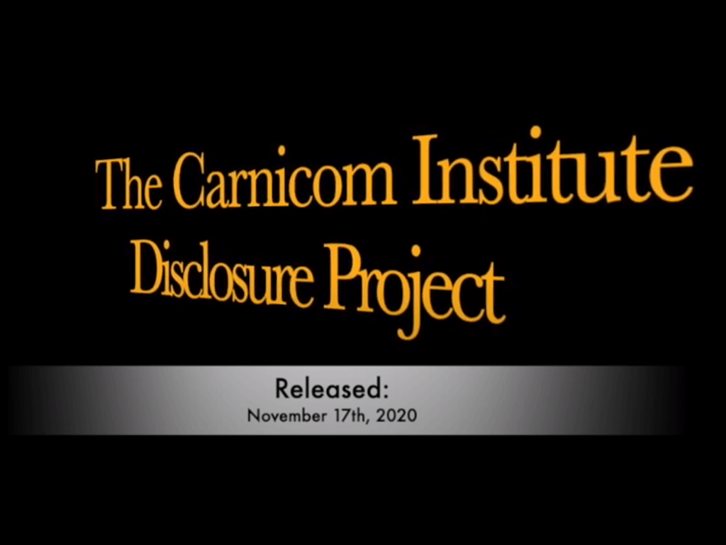 The Carnicom Disclosure Project